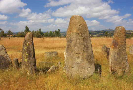 Tiya Stelae Field - UNESCO World Heritage Site - Ethiopia